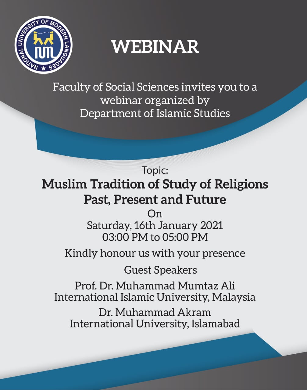 Muslim Tradition of the Study of Religion: Past, Present and Future