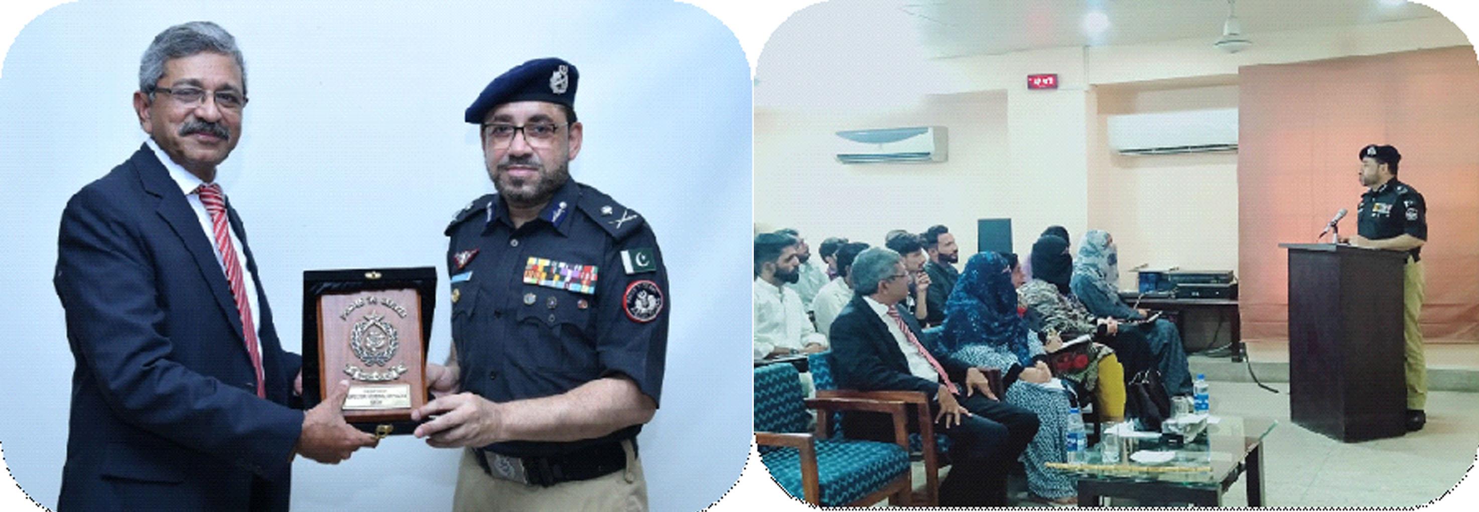 Guest Speaker Session - IG Sindh Dr. Kaleem Imam