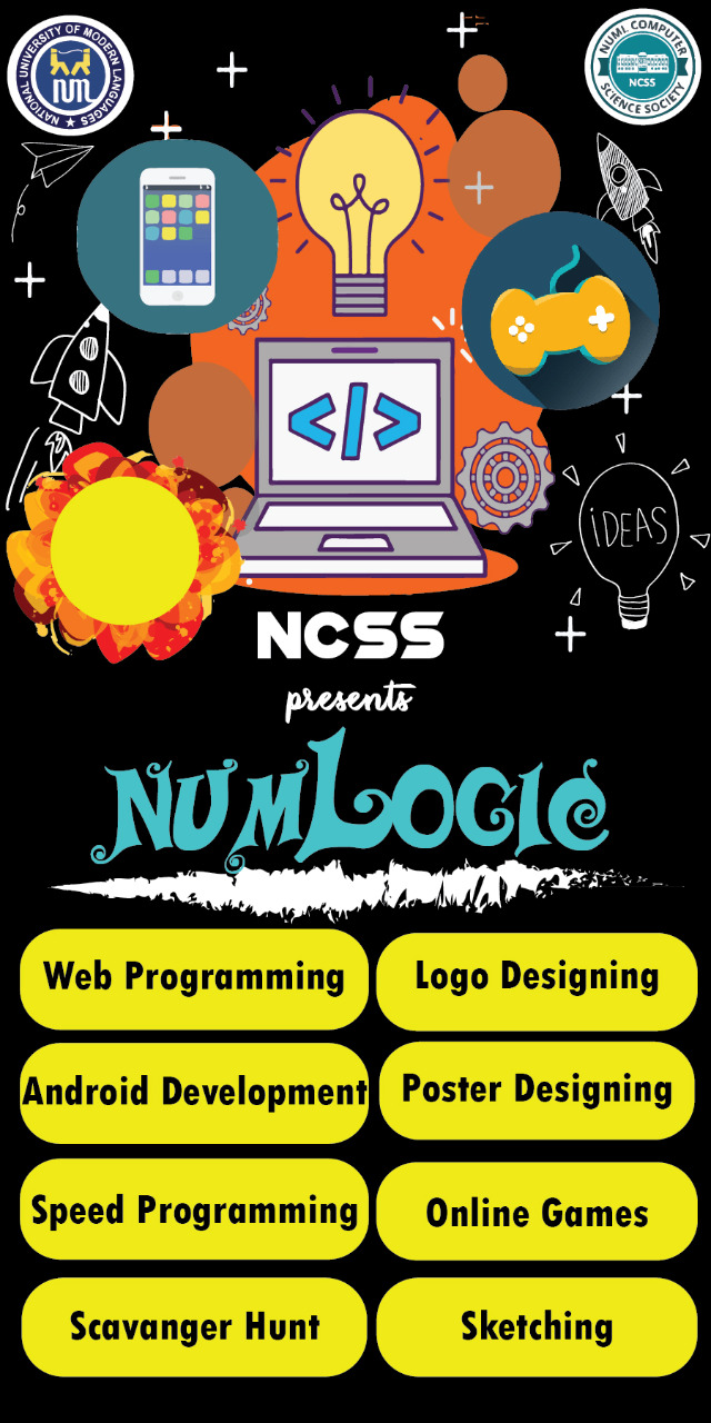 NUMLogic was held in CS Department