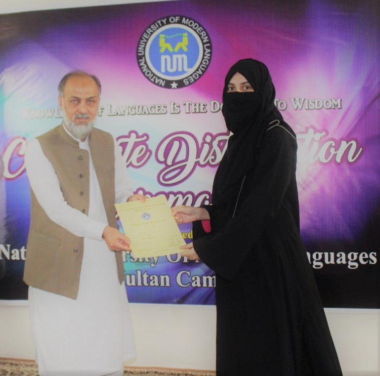 Certificate distribution of Summer holiday course Research Methodology.