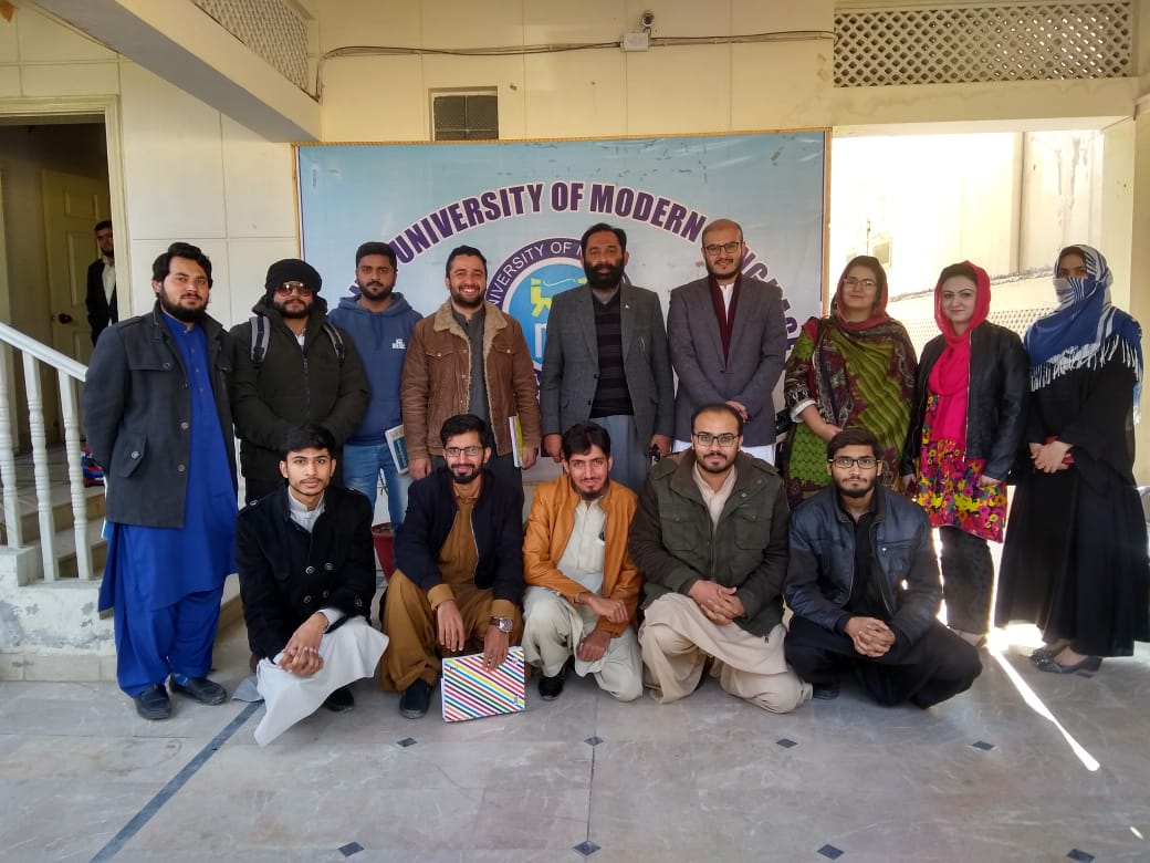 NIC Awareness Session For Cohert – II at NUML, Quetta: